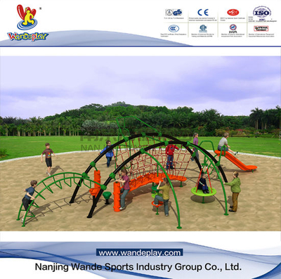 Outdoor Climbing Rope Net Railing for Children