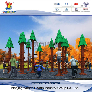 Wandeplay Sequoia Climbing Amusement Park Children Outdoor Playground Equipment with Wd-HP101