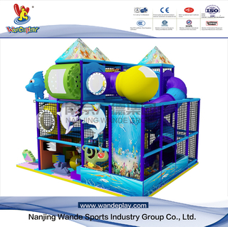 Castle Adventure Children Indoor Playground in Shopping Mall