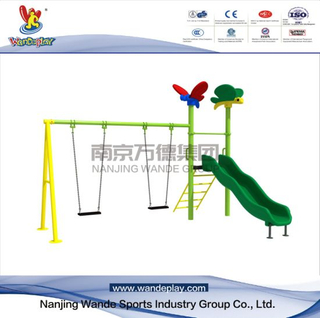 Amusement Children Outdoor Classical Playset with Swing