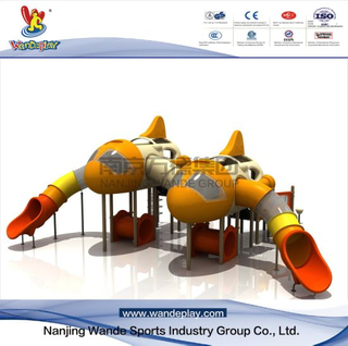 Aircraft Playset with Slide for Amusement Park