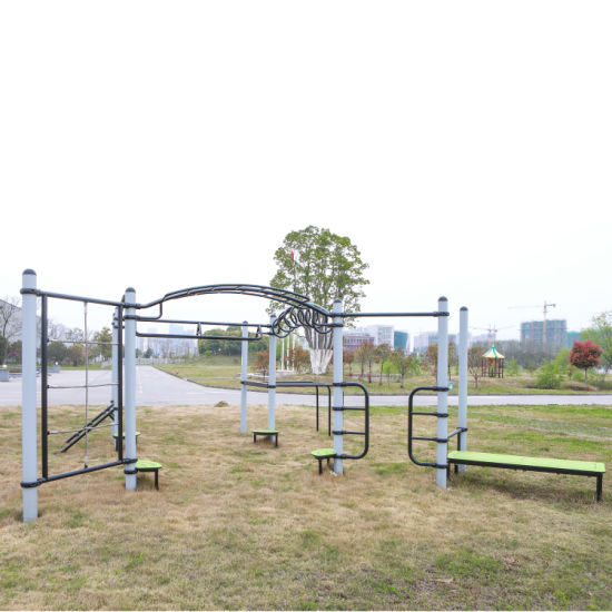 Outdoor Total Body Strength Training with Equipment