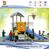 Samll Outdoor Outer Space Playground Equipment With Robot Panel