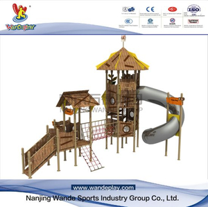 Amusement Park Children Outdoor Customized Playset Equipment
