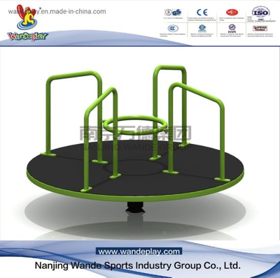 Outdoor Roundabout of Rotating Playground Equipment for Public