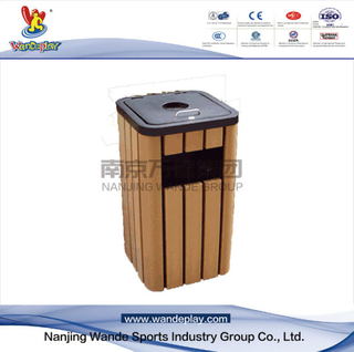 Public Outdoor Site Furniture Rubbish Bin
