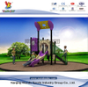 Outdoor Modern Backyard Playground for Kids with Slide