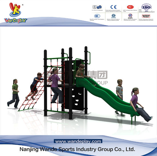 Wandeplay Climbing Net Amusement Park Children Outdoor Playground Equipment with Wd-QS018