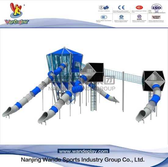 Combined Slide Children Customized Playset Equipment