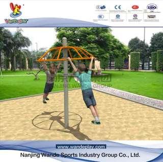 Air Turntable of Outdoor Rotating Playground Equipment for Public