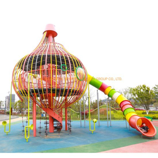 Children Outdoor Playground Equipment Customized Playset