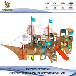 Outdoor Wooden Children Customized Playset