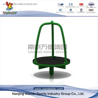 Outdoor 3-kid Whirl of Rotating Playground Equipment for Kids