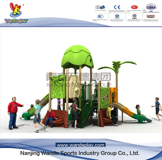 Amusement Park Outdoor Playsets Tree House for Kids