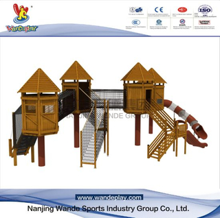 Wooden Children Outdoor Customized Playset Equipment