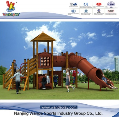 Precautions for outdoor playground equipment using