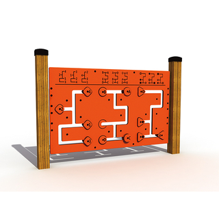 Outdoor Playground Public Puzzle Game Playset for Amusement Park