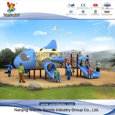 Outdoor Playground Equipment Aircraft Playset for Toddlers .jpg