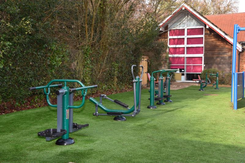 What types of school fitness equipment are there?