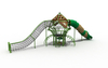 Amusement Park Outdoor Bird Nest Climbing Playground Playset for Kids