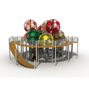 Popular Outdoor Customized Football Tower Playset Equipment