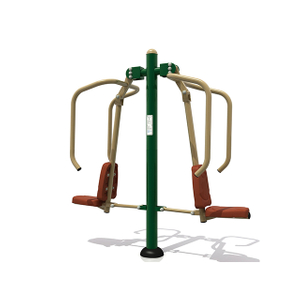 Outdoor Fitness Equipment Double Power Push For Adults