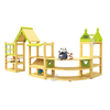 Children Indoor Daycare Furniture Wooden Cabinet for Kindergarten